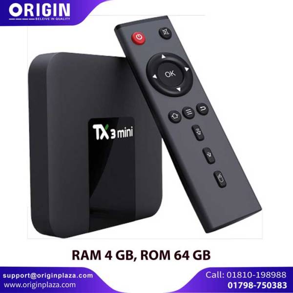 TX3 Android 9.0 TV Box 4GB RAM 64GB ROM 8k DUAL wifi