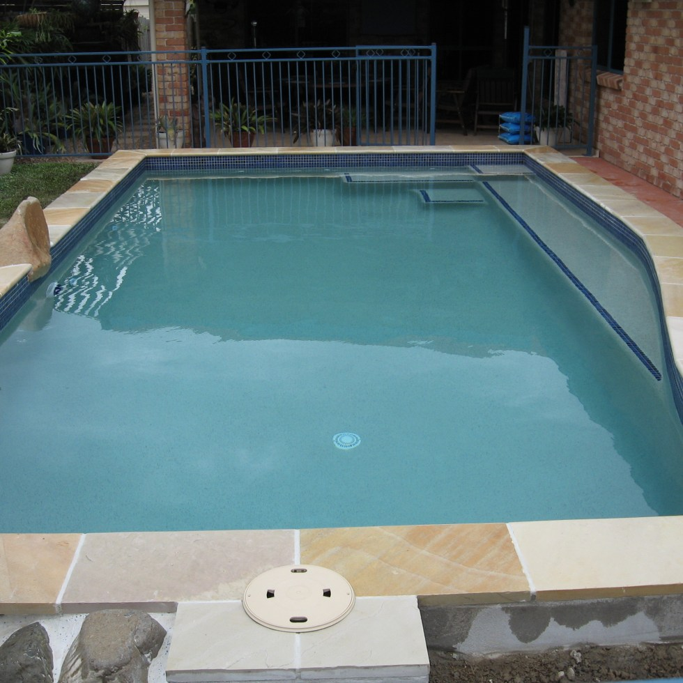 Pool Surround Rock Feature