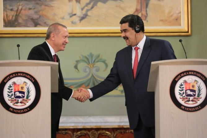 * Venezuela and Turkey signed eight bilateral cooperation agreements