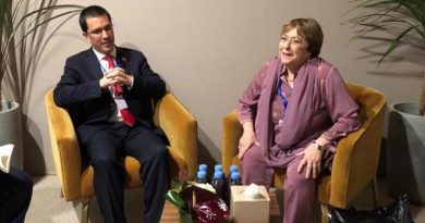 * The Chancellor met with Bachelet at the UN