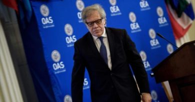 * Russia accuses Almagro of seeking to tighten ties with Latin America
