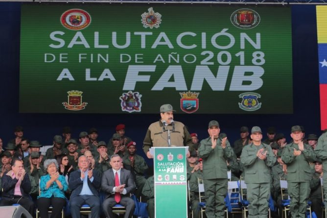 * President Maduro ordered the reinforcement of the border with Colombia