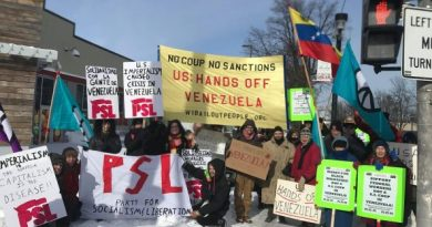 UPDATED 7 - President Maduro: Solidarity is Growing  in the US and Around the World in Support of Venezuela and Against the Coup (IMAGES)