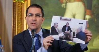 Arreaza: At the Request of the US, Conversations to Open Interest Offices Began