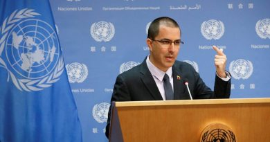 Arreaza: UN Group of 60 countries supporting Venezuela  evaluate 7 point plan