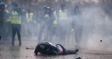 """""""Macron unleashed violence against Yellow Vests, each casualty is on him"""" – French author & academic"""