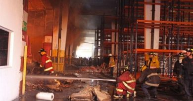Right-Wing Terrorists Set Fire to a CLAP Packaging Center