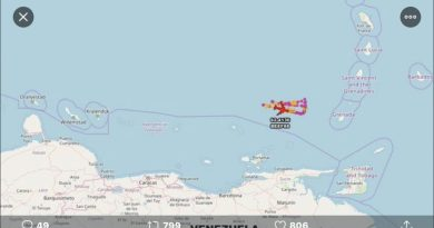 Venezuelan Navy Confronted a US Ship Coming from Puerto Rico - US Surveillance Planes Flying Nearby