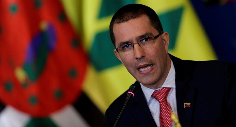 FM Arreaza Repudiates Threats From the US and its Allies