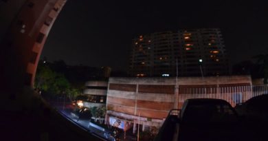 Images from Today's Blackout in Caracas
