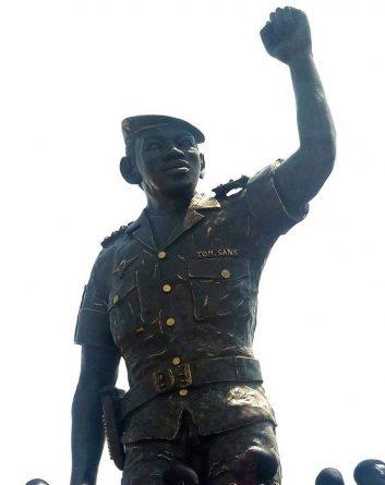 African Icon, Thomas Sankara's Statue Unveiled in Burkina Faso