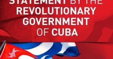 Cuba Condemns Terrorist Sabotage Against Venezuela's Electric System