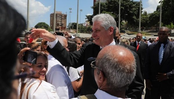 Diaz-Canel Defends Cuban Doctors' Work in Venezuela After NYT Report