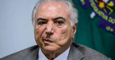 Brazil's Temer Arrested for Corruption