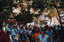 Altercation with GNB near La Carlota