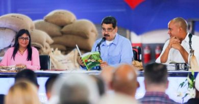"""President Maduro: """"Colombian Mafias Steal Venezuelan Cocoa and Sell it as Colombian"""""""
