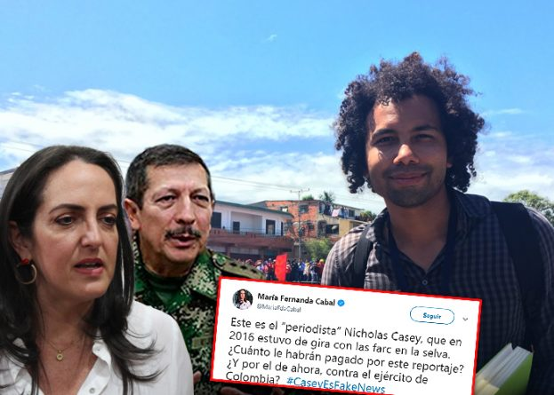 NYT Journalist Leaves Colombia After Exposing  Extrajudicial Killings By Army