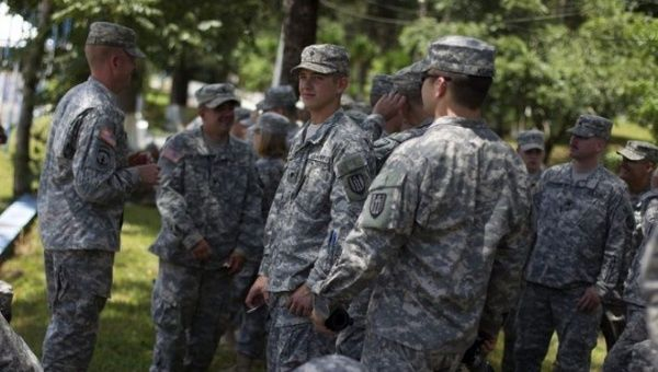 """300 US SouthCom Troops in Honduras to Teach """"Humanitarian  Assistance"""""""