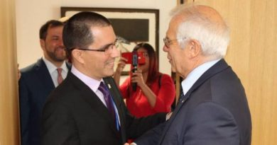 Chancellor Arreaza Meets with Spainish Chancellor Josep Borrell (+Norway Talks)