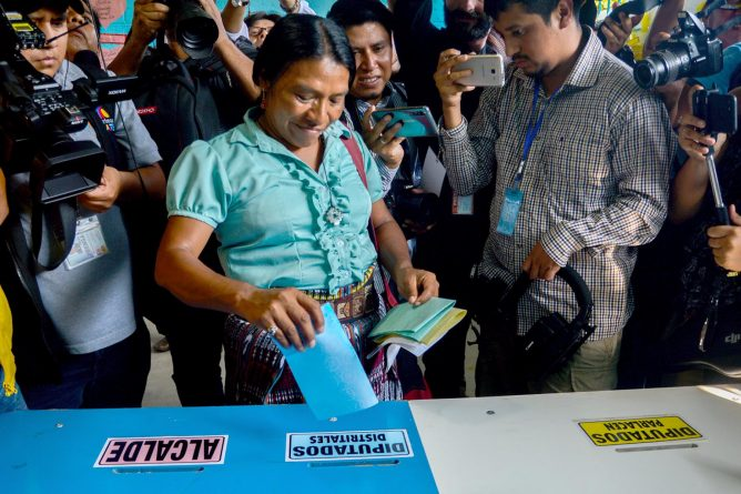 Thelma Cabrera: Indigenous, Female and Shaking up Guatemala's Election