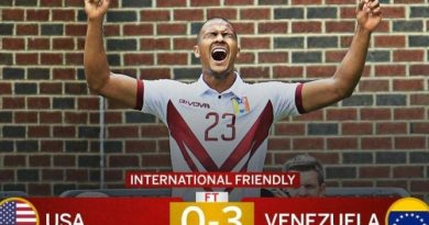 Venezuelan Soccer Team Defeats US Selection 3-0 - Enjoy the Goals