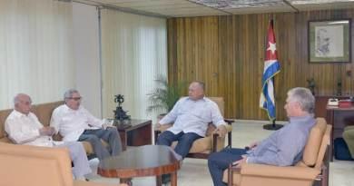 Diosdado Cabello Received in Cuba by Díaz-Canel and Raúl Castro (+Canada)