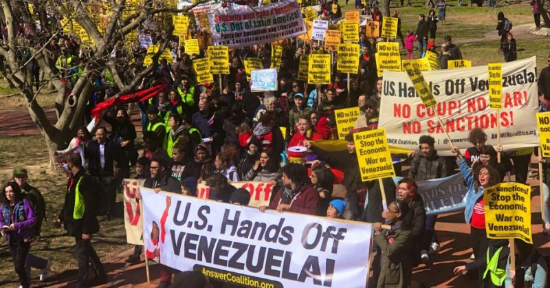 So Who Is Reporting That Trump Sanctions Have Killed Thousands of Venezuelans?