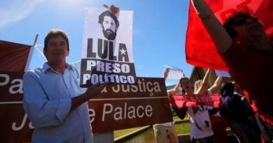 Lula is a Political Prisoner, Victim of Lawfare: Brazil Workers' Party