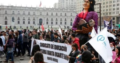 70,000 Chilean Teachers Continue to Strike for Better Education