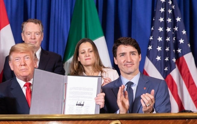 """Canada Adopts America First Foreign Policy,"" US State Dept boasted in 2017, with appointment of FM Chrystia Freeland"