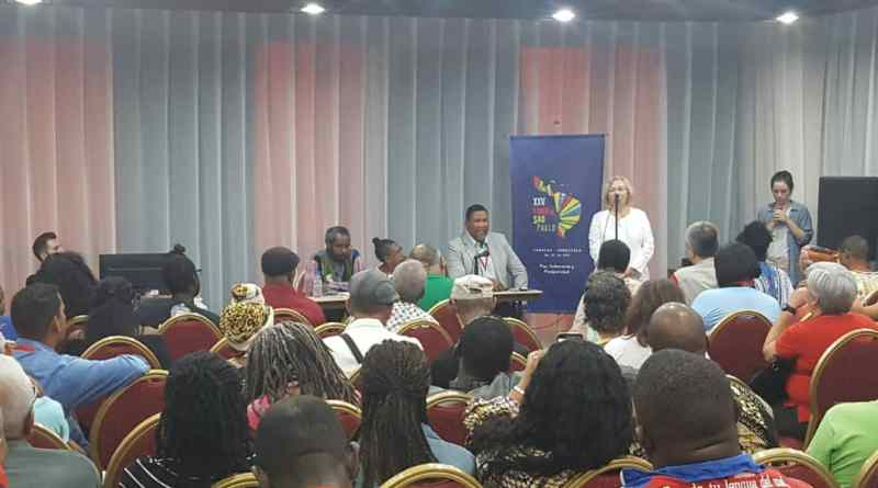 "Venezuelan Afro-descendant Movements Exchange Experiences with Zwelivelile ""Mandla"" Mandela"
