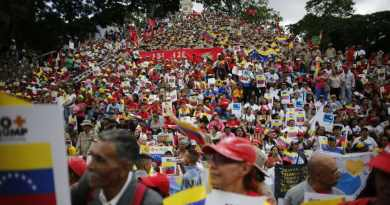 Thousands of Chavistas Fill Streets of Venezuelan Cities to Protest US Sanctions(Images + Videos)