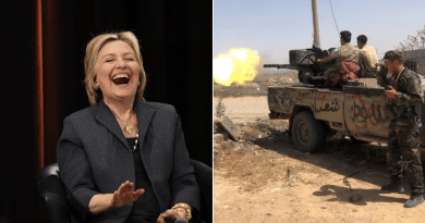 """What Happened When She """"Supported"""" Libya? Chinese Media Roasts Hillary Clinton over Hong Kong"""