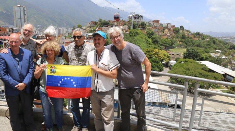 International Delegation on the Ground in Venezuela (+Alberto Lovera Bolivarian Circle)