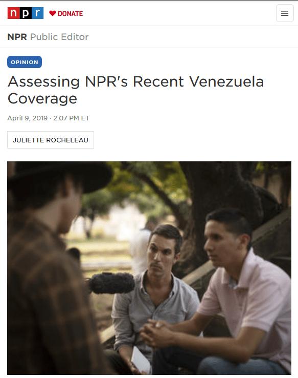 NPR-Venezuela-Assessment