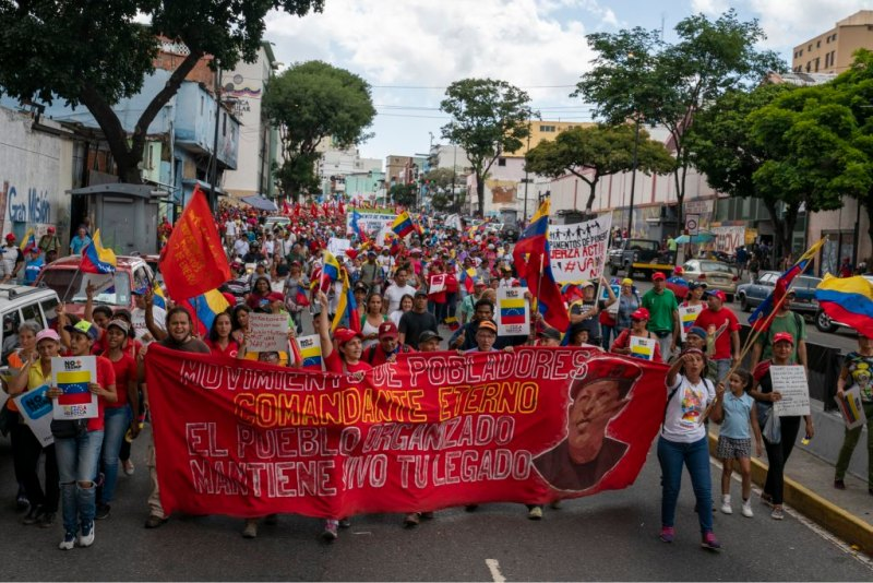 Venezuela-no-more-Trump-march-Chavez-banner.jpg