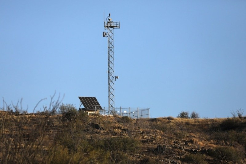 """US Border Patrol and Israeli Military Contractor Putting a Native American Reservation Under """"Persistent Surveillance"""""""