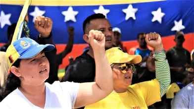(Katrina Kozarek / Venezuelanalysis.com)