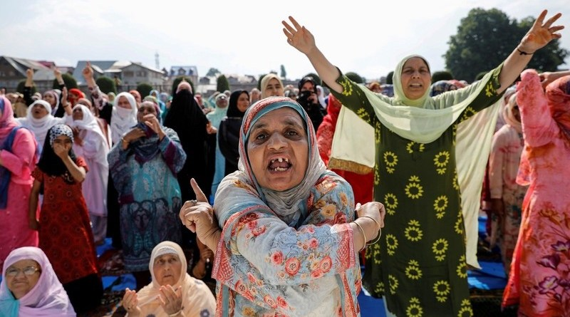 Palestinians Denounce India's Israeli-Style Tactics in Kashmir