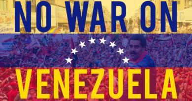 We Repudiate the Brutal Cruelty  of the  United States against Venezuela (Solidarity Statement)
