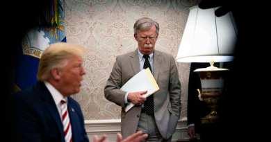 Donald Trump Fires National Security Advisor John Bolton