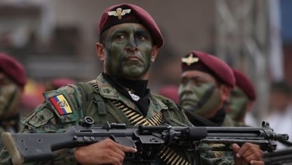 Israel Will Begin Training Ecuadorian Military Units