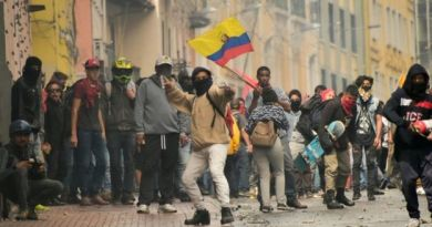 """Ecuador: Lenin Moreno Decrees State of Exception Amid """"IMF Package""""  Protests (Democracy Lima Group Style)"""