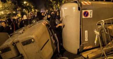 Uprising in Catalonia