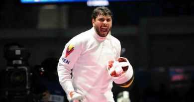 Francisco Limardo Won Gold in Fencing at International Tournament (Karlovy Vary)