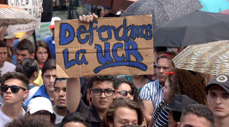 Costa Rica Joins the Protests: Mobilized Students Defend Public Education (Images)