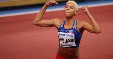 Yulimar Rojas in the Triple Jump Finals  - World Athletics Championship