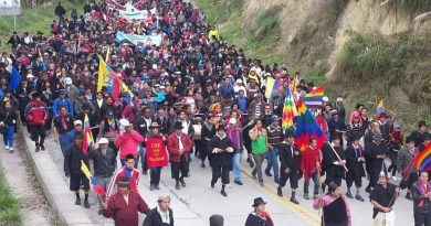 Ecuador: Indigenous Organization Decrees its Own State of Exception in Response to Repression Against the People