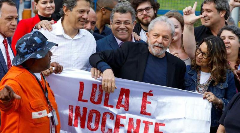 Lula Da Silva Released After One Year and Seven Months in Prison
