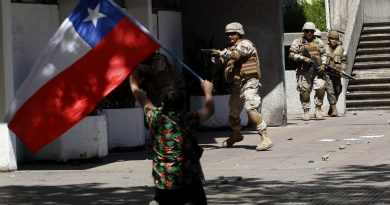 23 Dead and 1,300 Wounded: Repression Continues in Chile